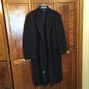 Man's cashmere blend overcoat